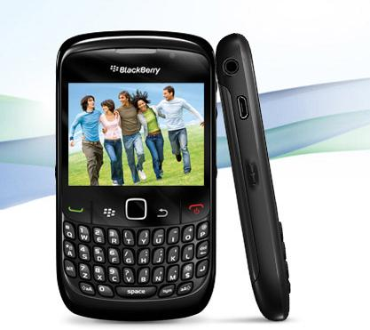 The BlackBerry Curve 8520 smartphone from Airtel measures 109 mm x 60 mm x