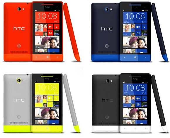 HTC 8S Colours
