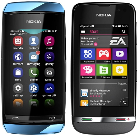 Nokia Asha devices called the Nokia Asha 311, Asha 305 and Asha 306