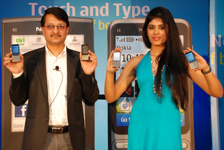nokia x3 touch and type pictures. The sleek, 9.6mm, Nokia X3-02