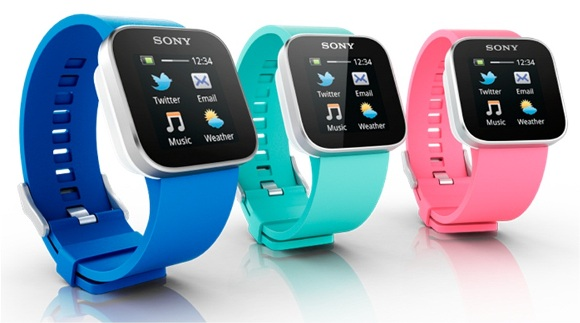 Sony Introduces Smart Watch