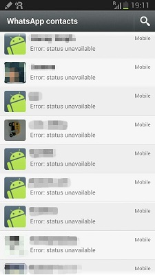 another error that Whatsapp users are facing. The status of WhatsApp